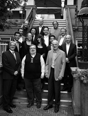 Grand Jury Proefschrift Wijnconcours in Wine Room Amstel Hotel
