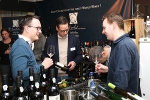 De stand van Ad Bibendum op Wine Professional