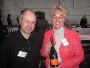 Anne Gros en Jean Paul Tollet van het Domaine Anne Gros