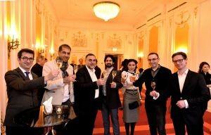 Armeense wijnmakers tijdens de Diamond Awards receptie