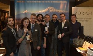 De Armeense stand op Wine Professional