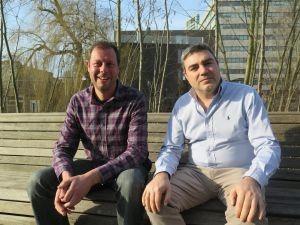 Wijnmakers Daniel Ramos (Sierra de Gredos) en Xavier Clua (Terra Alta)