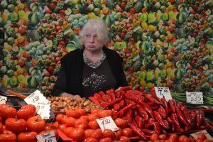 Centrale 'food market' van Riga