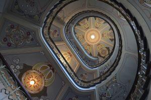 Een van de ruim 800 art-nouveaugebouwen in Riga