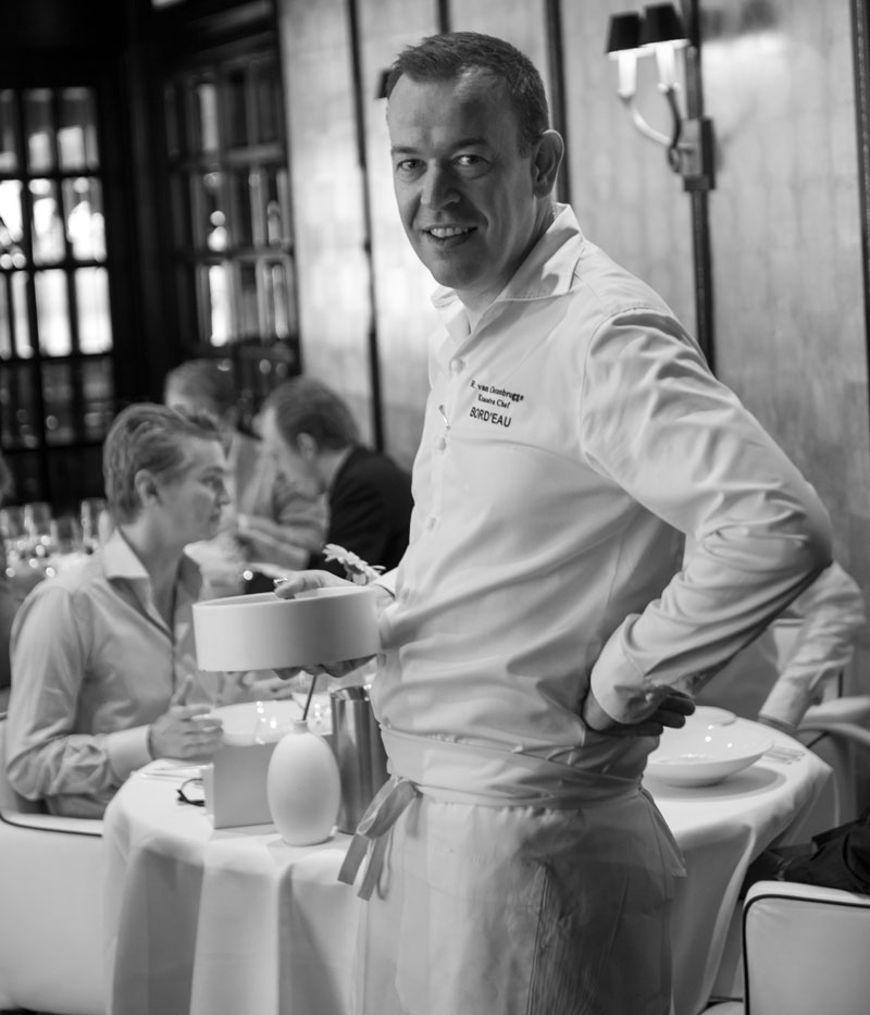 Richard van Oostenbrugge, chef restaurant Bord'Eau
