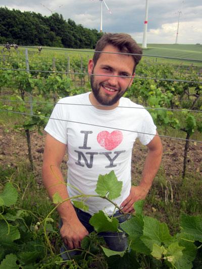 De jonge wijnboer Patrick Kampf is een geweldig natuurtalent!