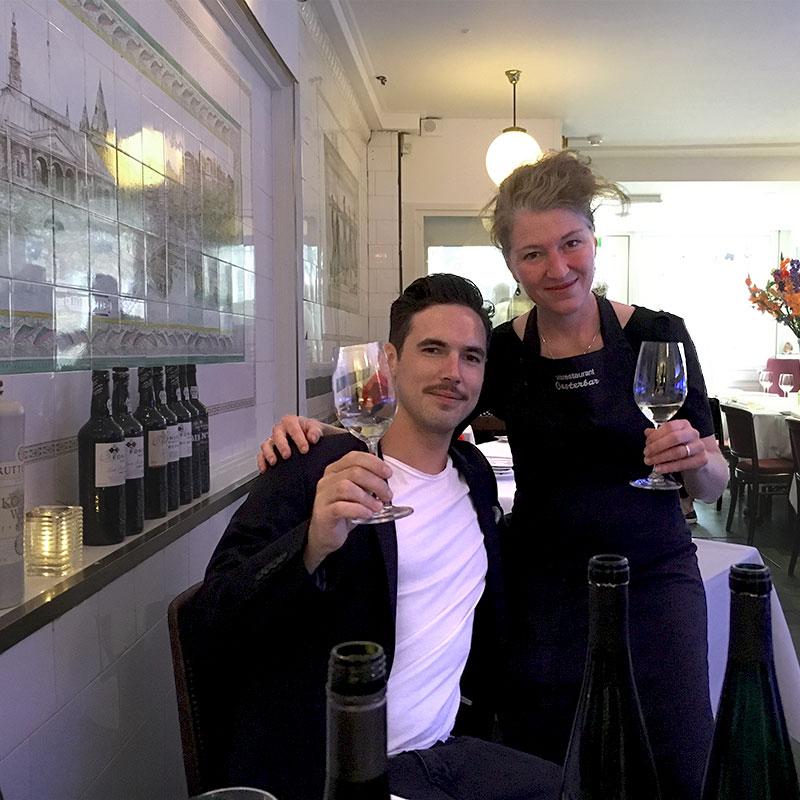 Matthias Knebel en Anne Engel