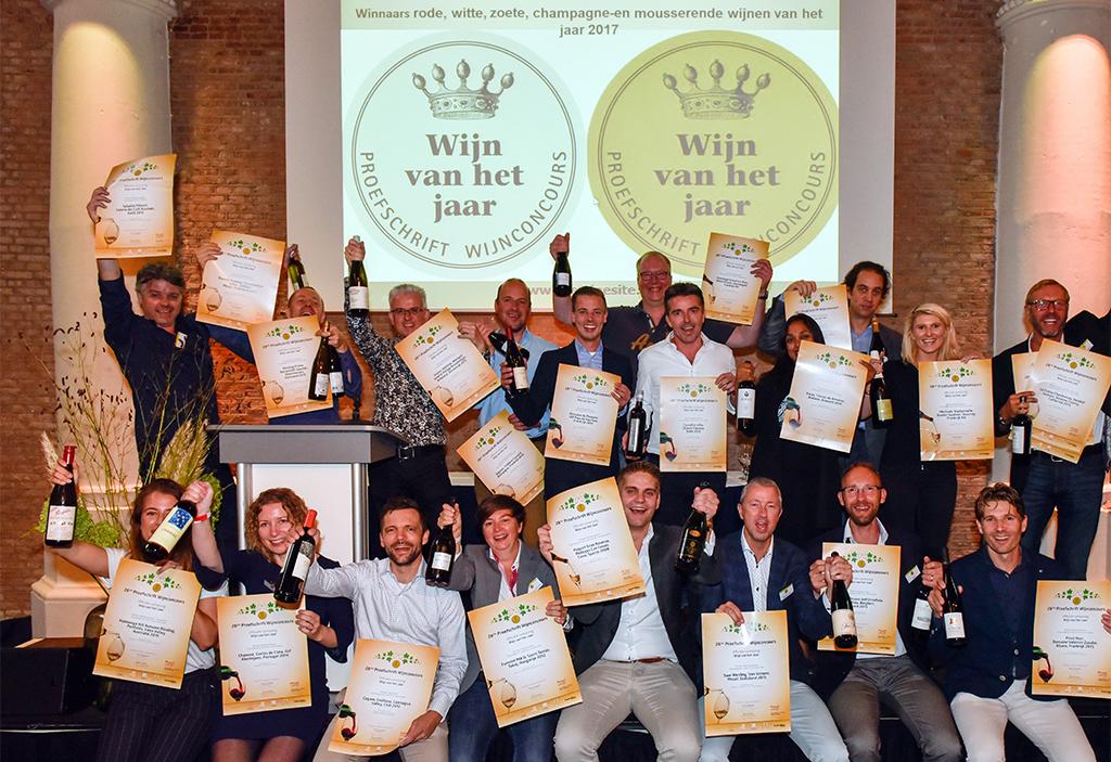 Winnaars 28ste Proefschrift Wijnconcours