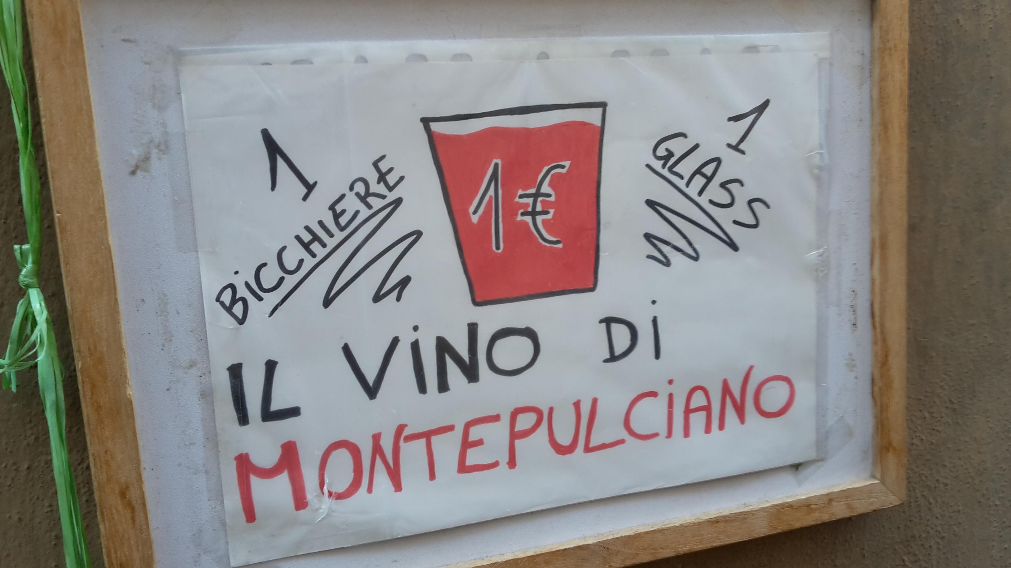 Promo Il vino di Montepulciano