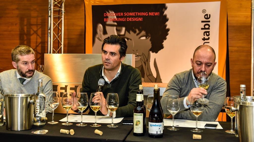 v.l.n.r. Armando Guerra, Willy Pérez, Ramiro Ibáñez