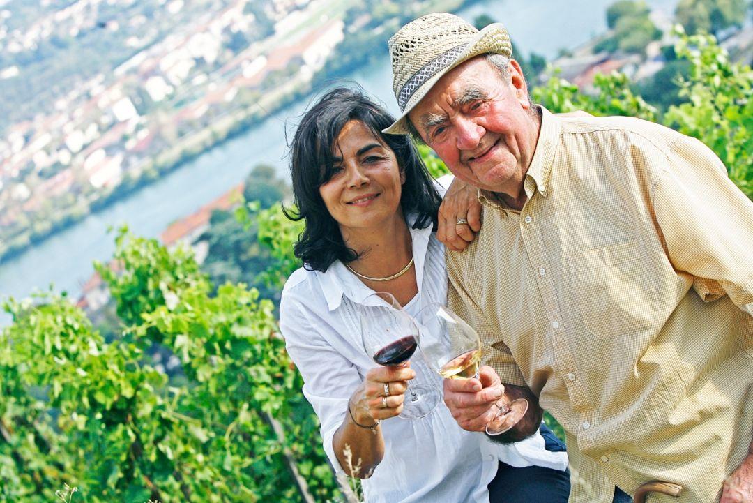 Christine en haar vader, Georges Vernay