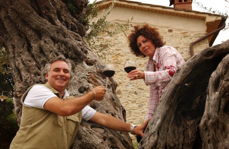 Alessandro Cocci en Stefania Margheri, Tenuta La Borriana
