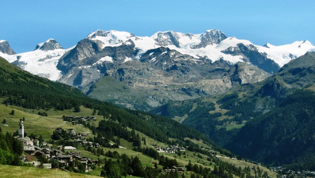 Monte Rosa en Sesiavallei