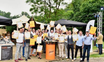 Proefschrift kiest rosés, champagnes en mousserende wijnen van het jaar