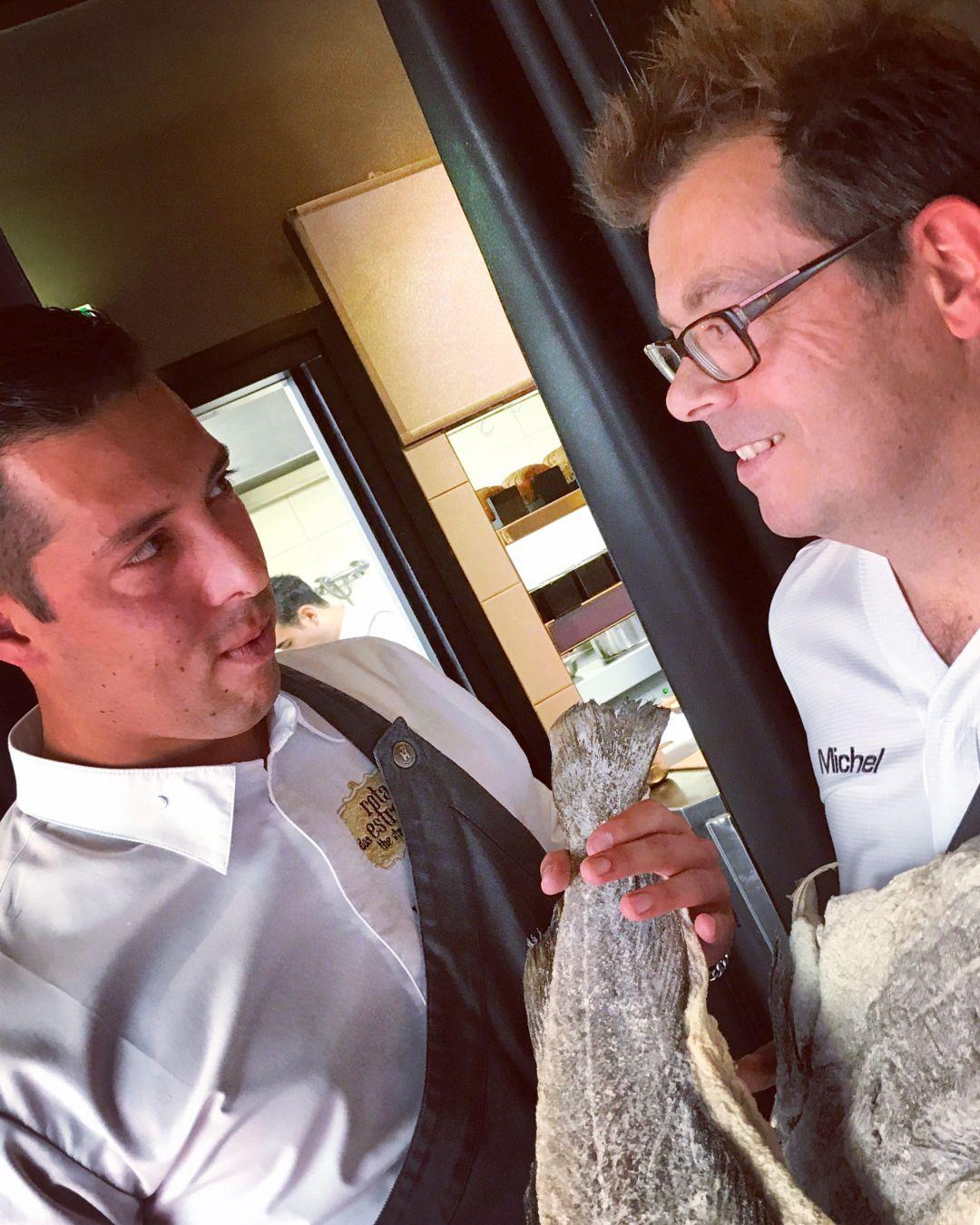 2 chefs