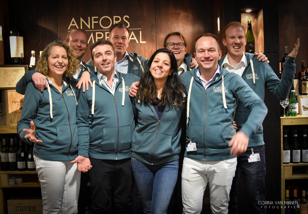 Team Anfors Imperial op Wine Professional