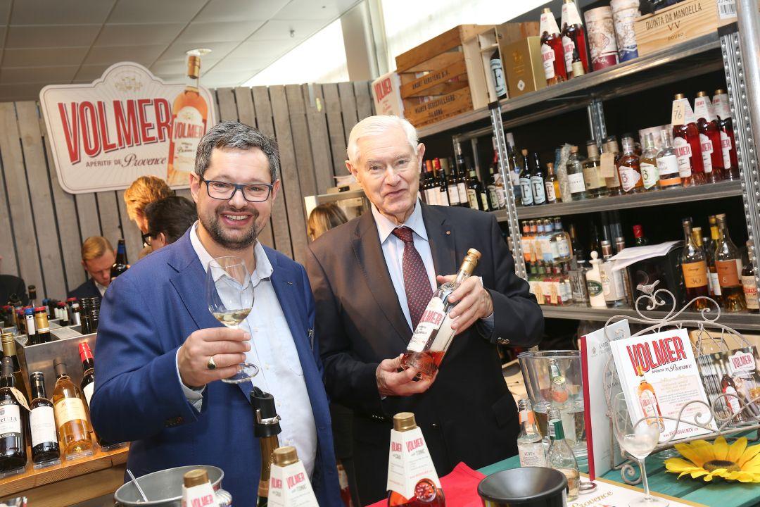 Olaf en André Kerstens op Wine Professional