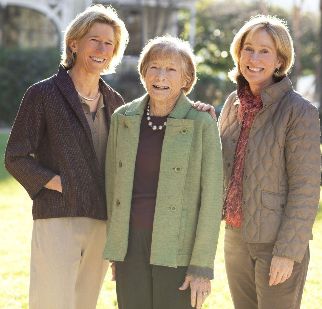 Beth, Mary en Lindy Novak