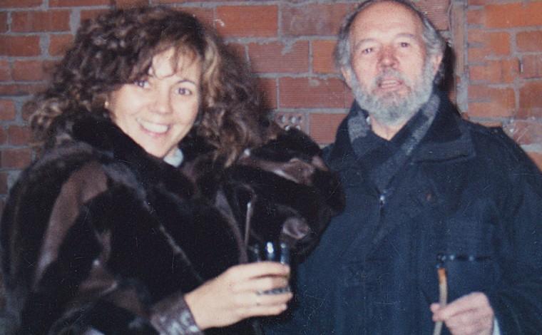 Victoria Pariente met haar vader José
