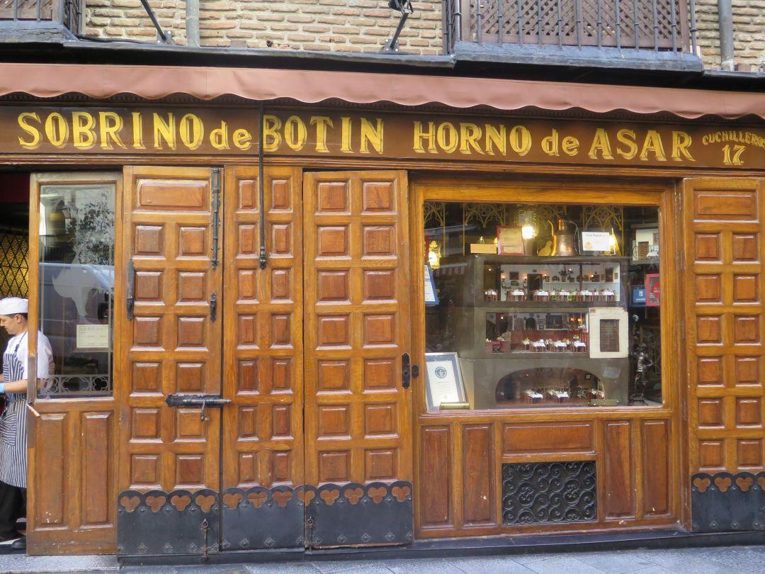Restaurant Sobrino de Botin