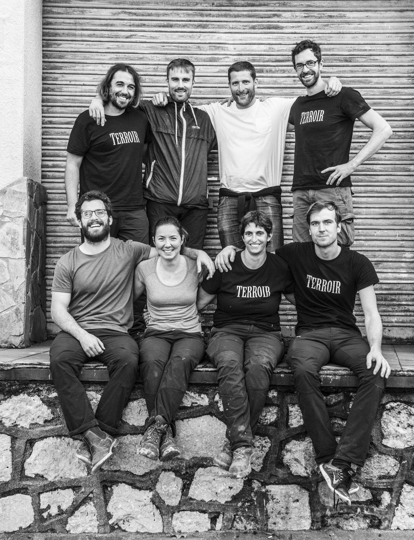 Het team van Terroir al Limit