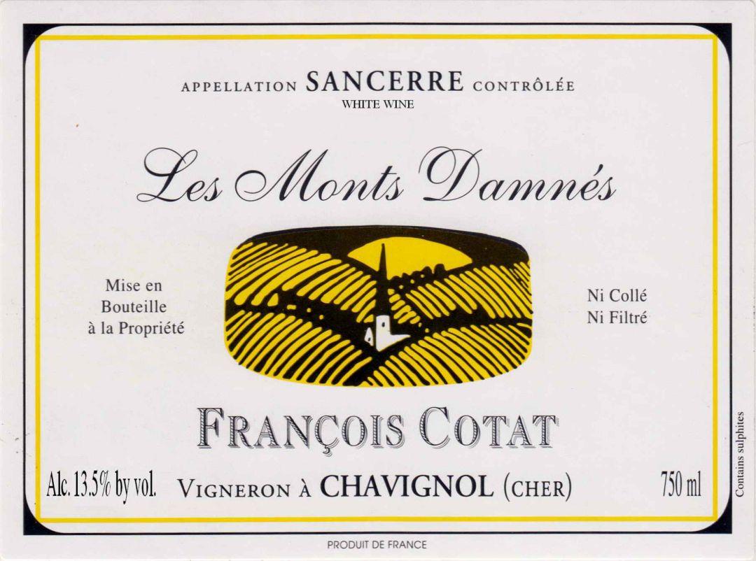 etiket Les Monts Damnés