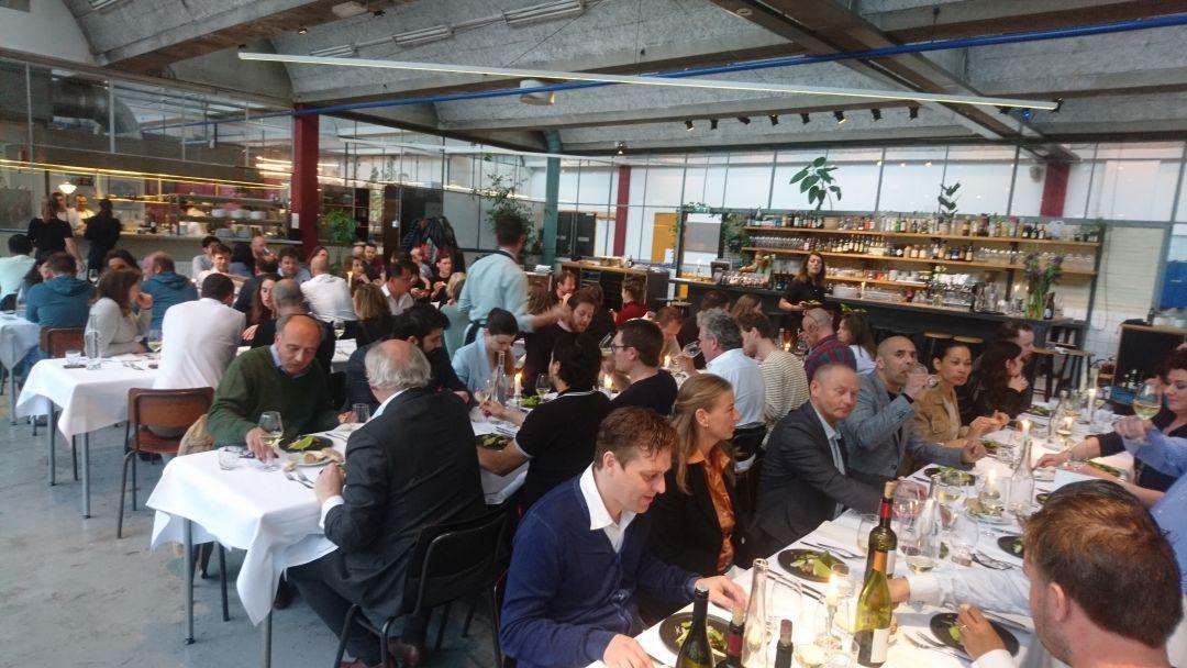 Diner en wijn bij DS