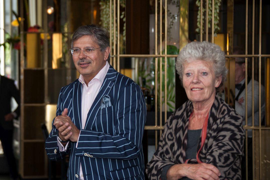 Henk Maas en Alexandra Belson