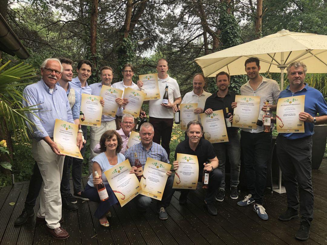 De winnaars van het 29e Proefschrift Wijnconcours