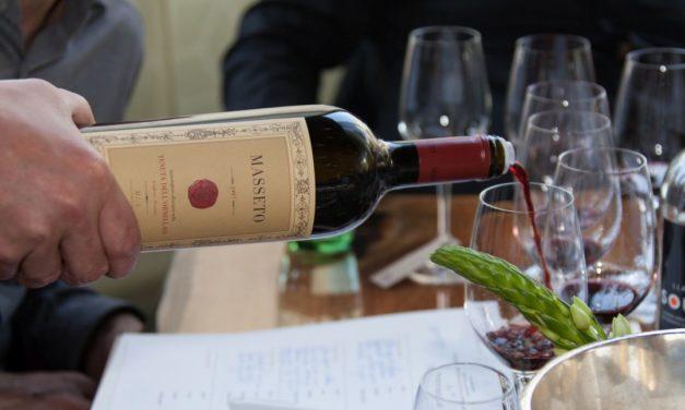 Icoonwijn Masseto verticaal
