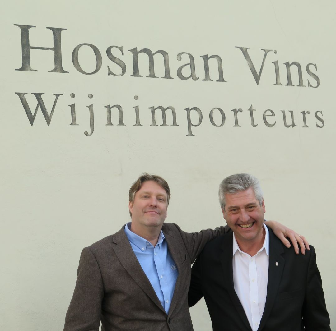 Ruben van Dam en Brian Baker