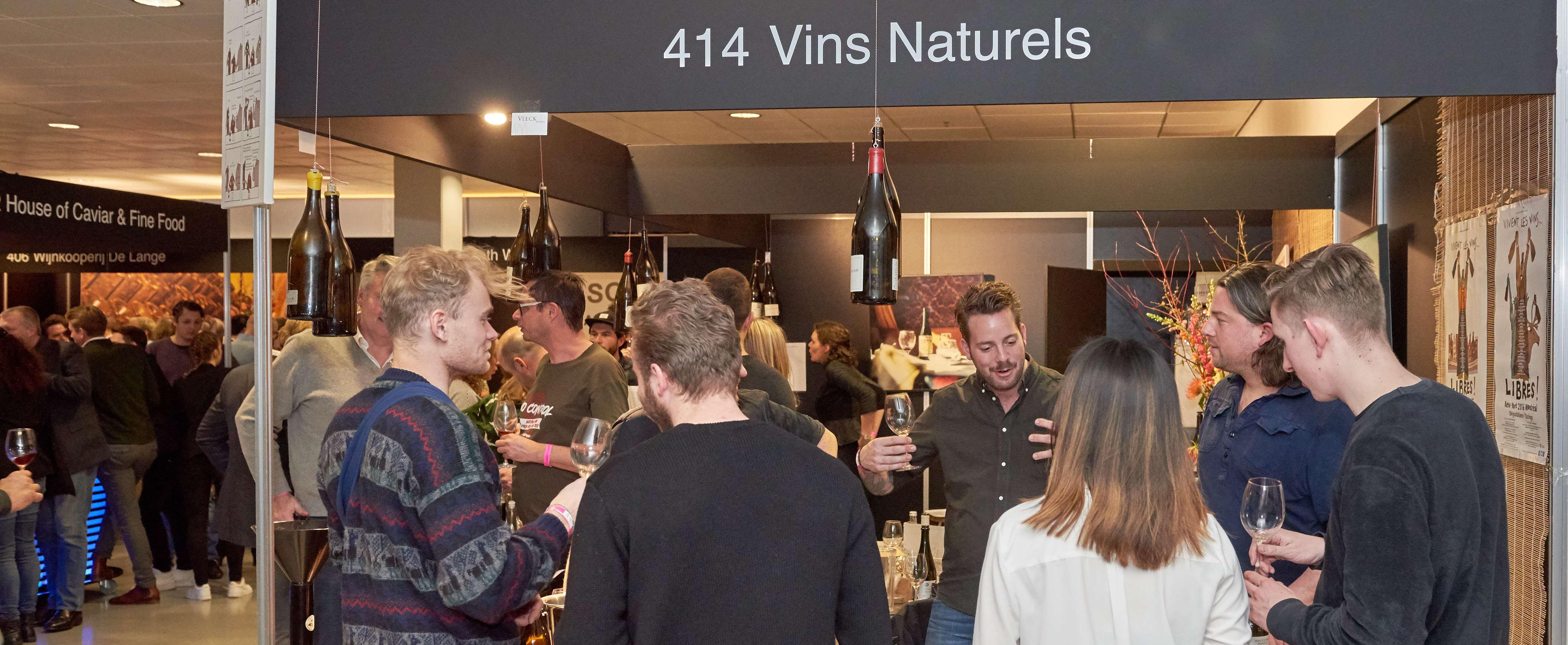 Vins Naturels stand