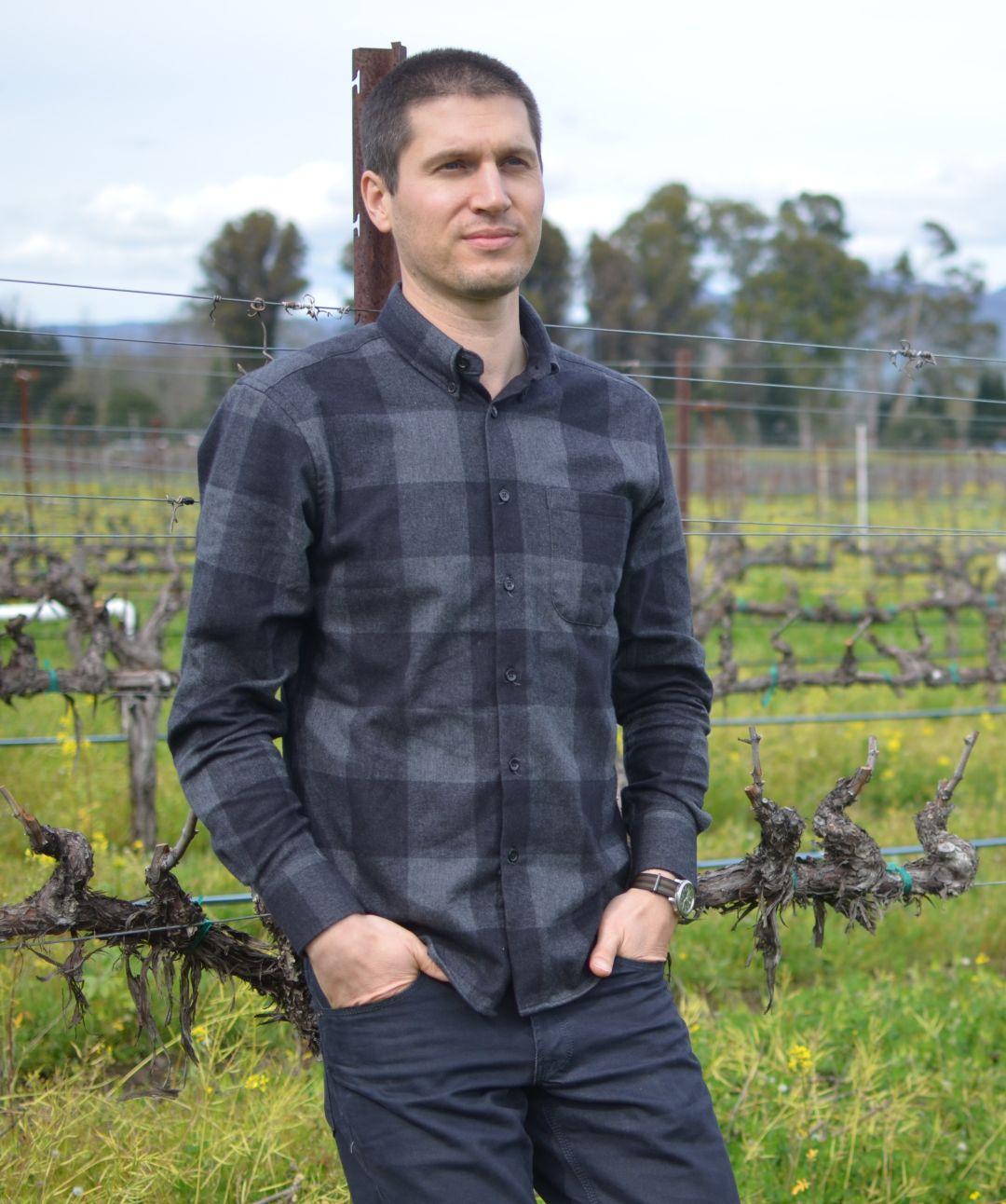 wijnmaker Matt Crafton