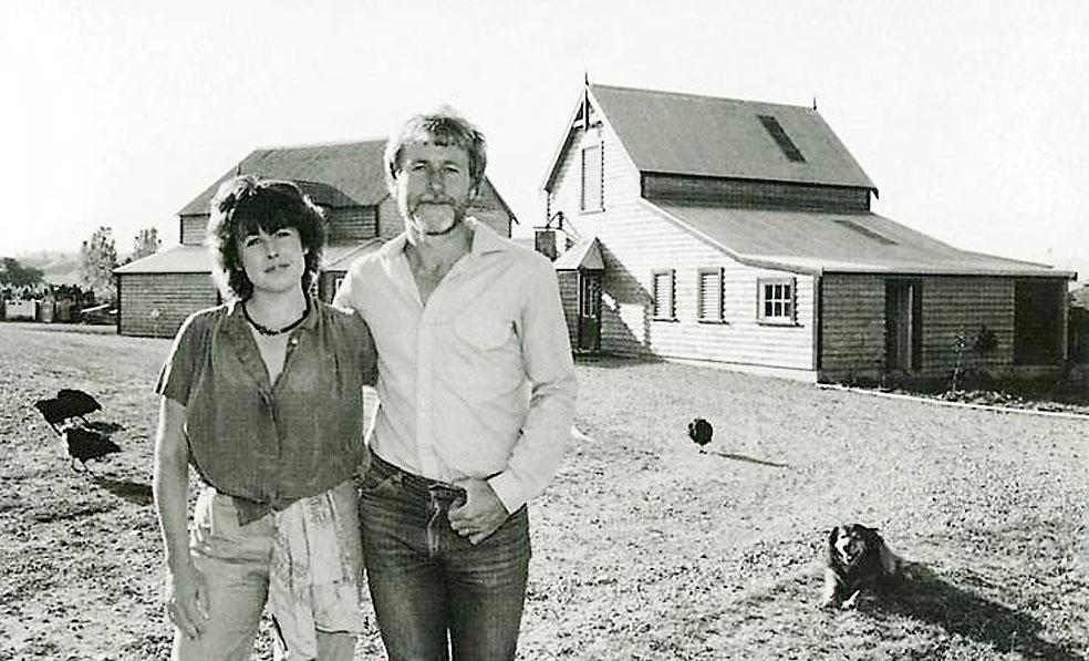 Tim en Judy Finn 1980