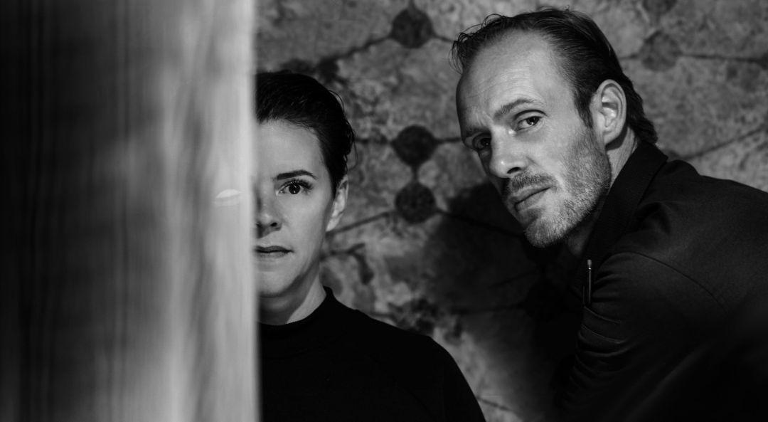 Jacqueline van Liere en Peter Gast