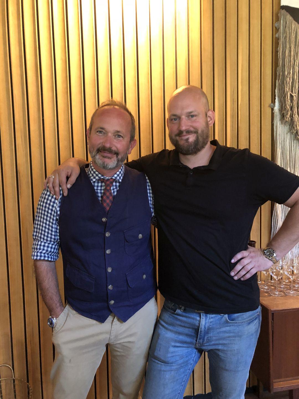 Michele Braganti van Monteraponi en Mattijs Koorneef