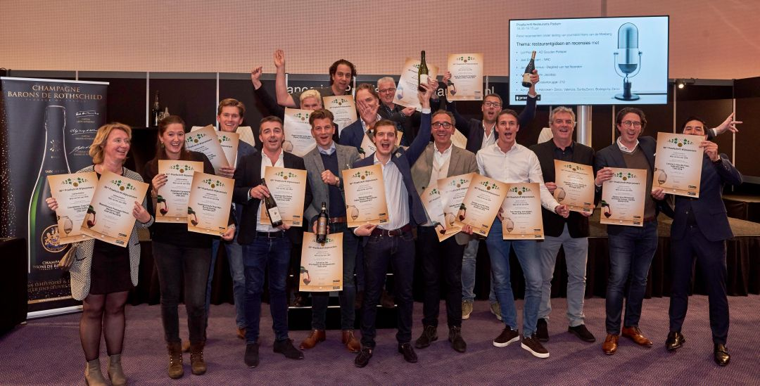 Winnaars wijnconcours