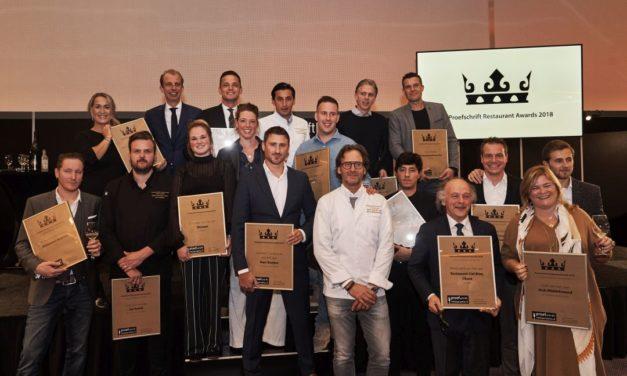 Proefschrift Restaurant Awards 2018 uitgereikt