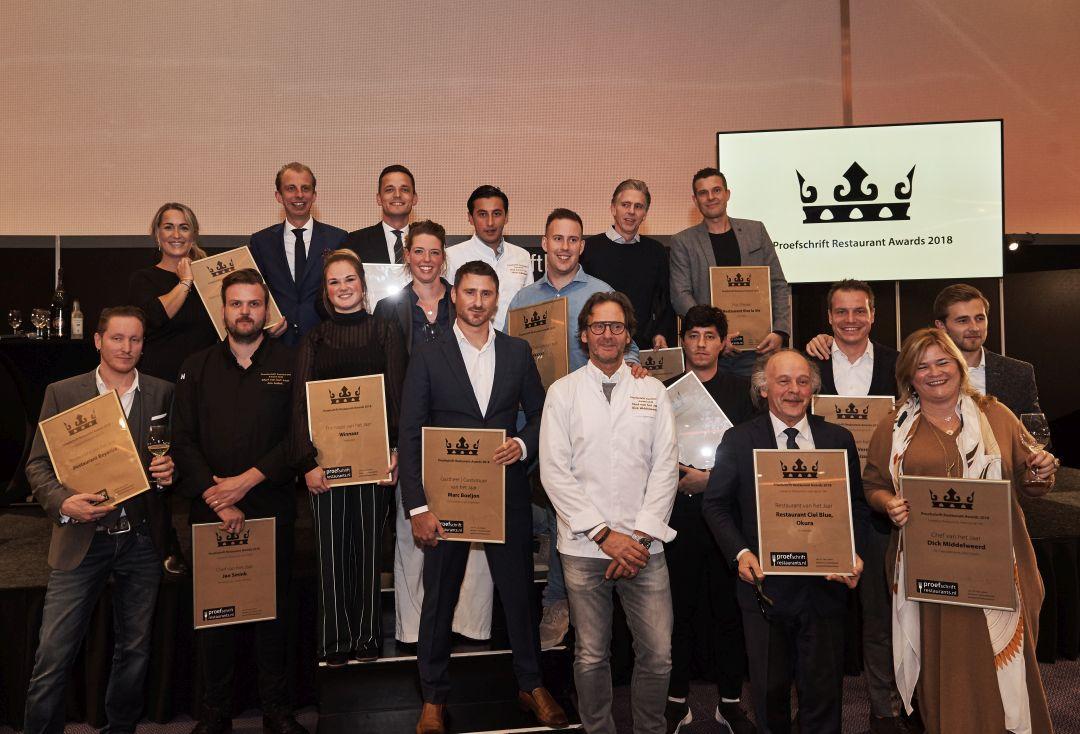 Proefschrift Restaurant Award Winnaars 2018