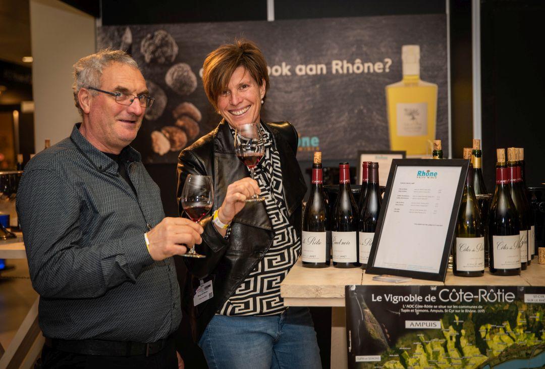 Jean-Luc Jamet en Marga van Winsen
