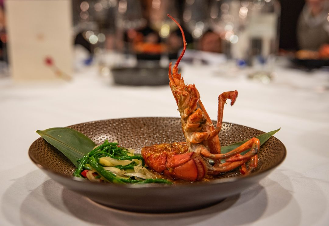 Singapore lobster
