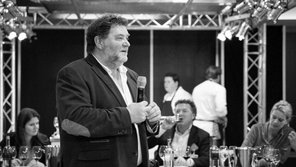 Juan Carlos Sancha tijdens Wine Professional