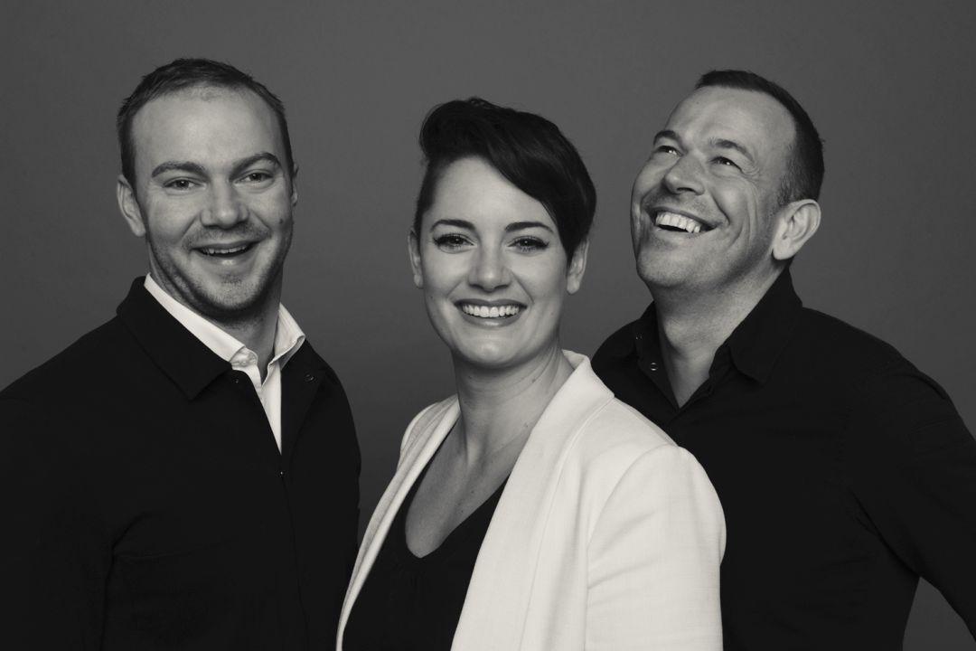 Thomas Groot, Daphne Oudshoorn en Richard van Oostenbrugge