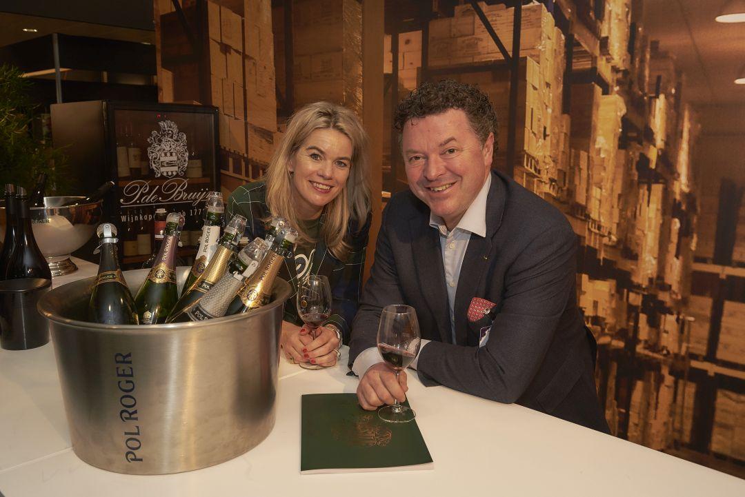 Marianne en Eric op Wine Professional