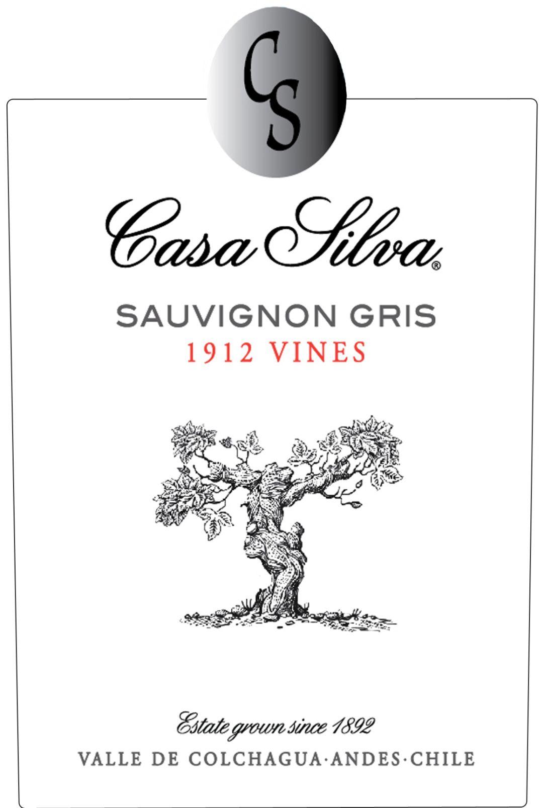 etiket Casa Silva SG 1912