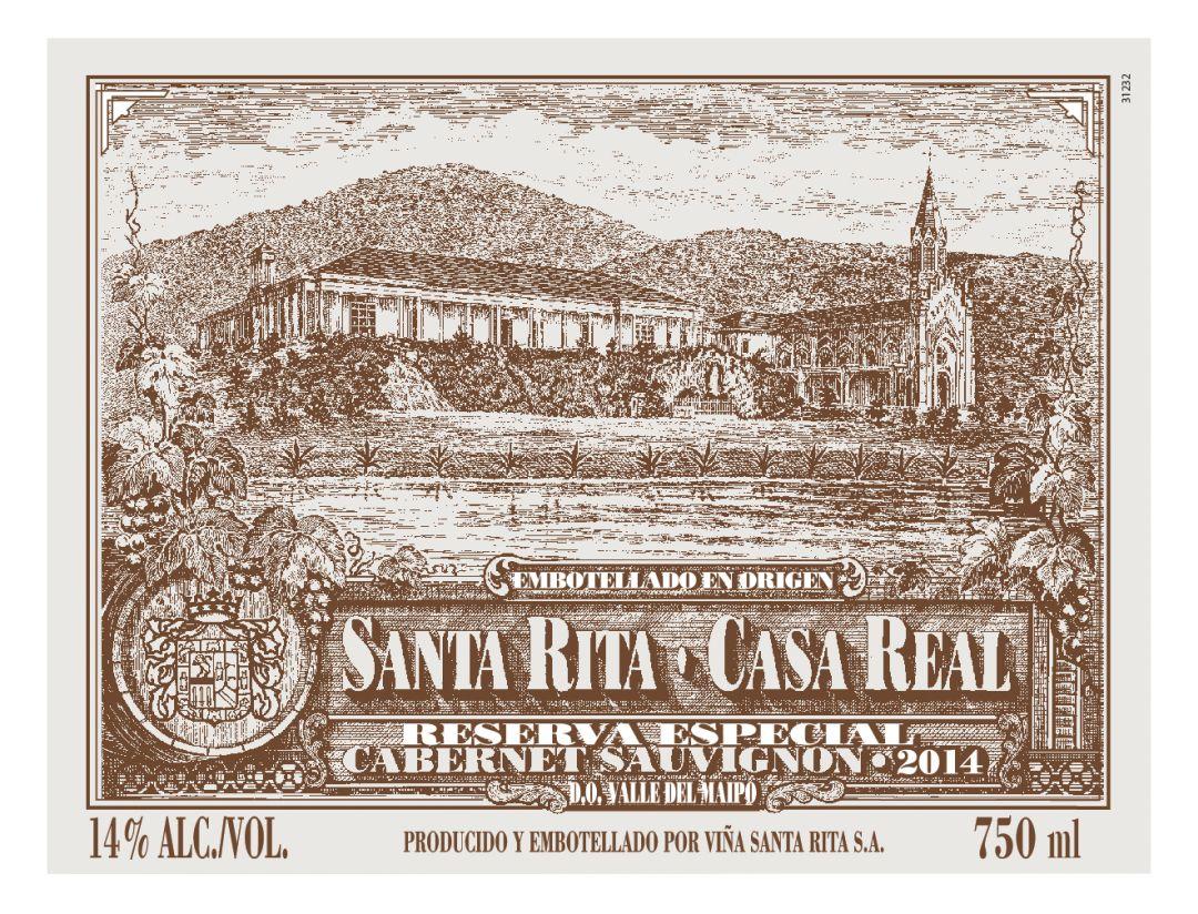 etiket Casa Real