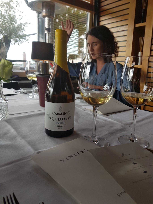 wijnmaakster Emily Faulconer, Carmen