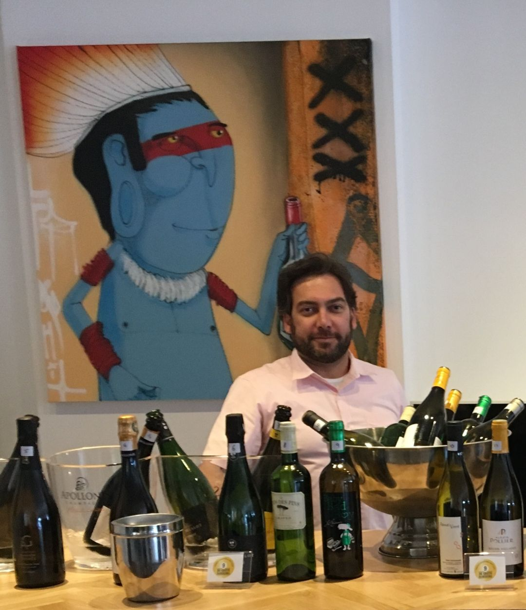 Kariem Hamed, Le Vineur
