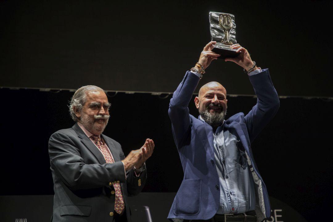 Sommelier Enrique García Albelda onderscheiden
