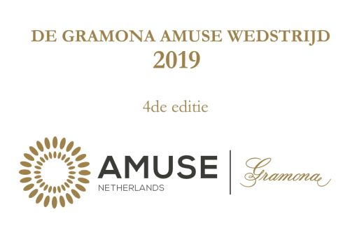 Inschrijving Gramona Amuse Wedstrijd 2019 geopend
